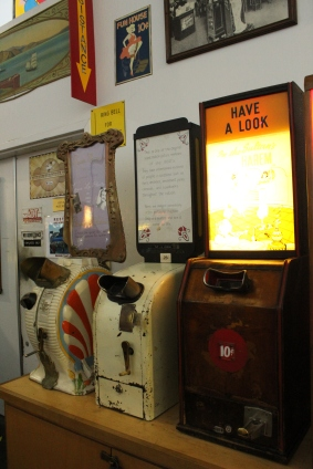 Old coin machines