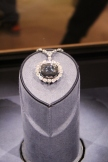 Hope diamond at the Museum of Natural History
