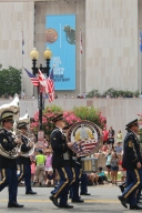 Military band at the Independence Day Parade