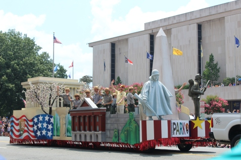 National Parks float