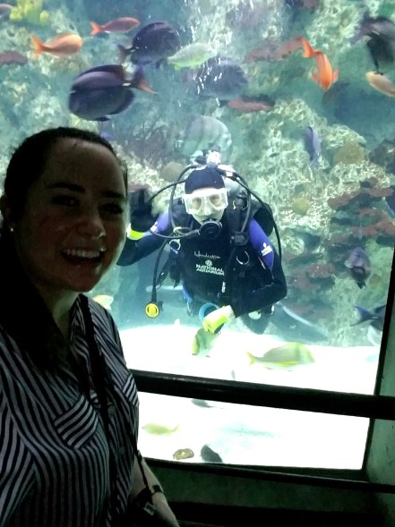 Selfie with one of the divers