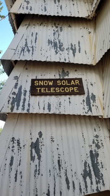 "Snow Solar Telescope ""dome"""
